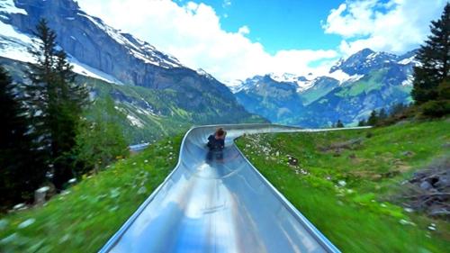 瑞士超級滑梯