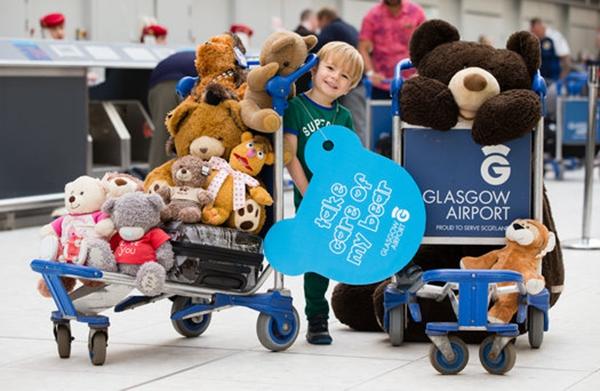格拉斯哥機場Teddy Tag