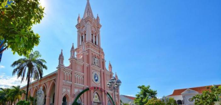 【越南 峴港】粉色教堂 打卡美景系列