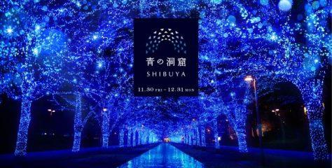 【日本 青の洞窟】浪漫冬季美景 800米夢幻藍色燈海