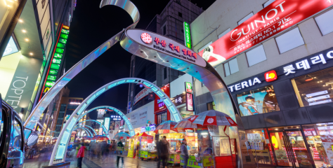 釜山必買的5大購物景點!美妝保養品、必吃零食趕快做筆記!