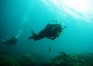 考潛水牌 下水前準備