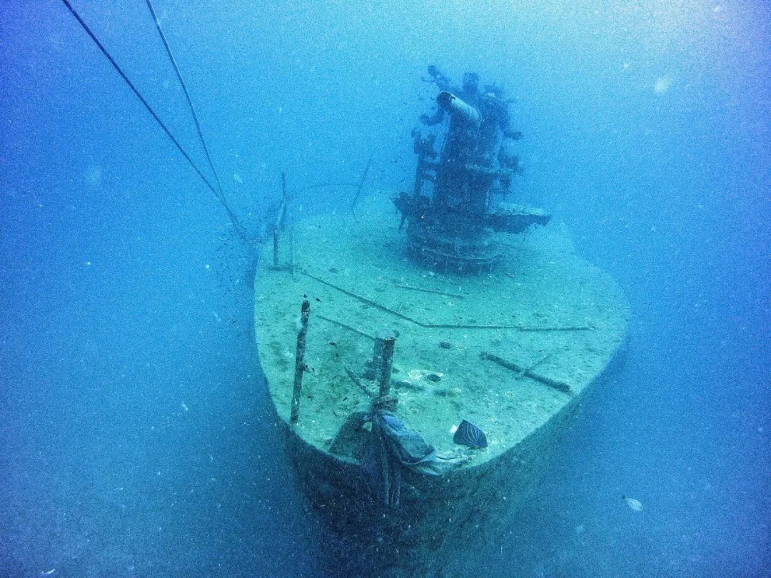蘇梅潛水 船難點
