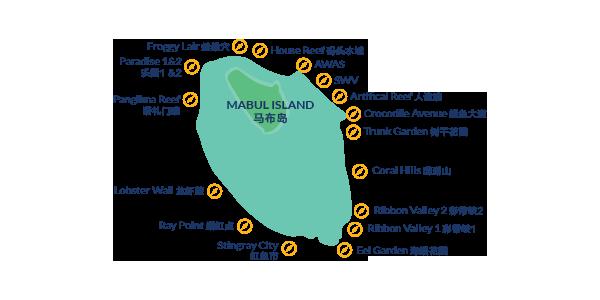 馬來西亞潛水 馬布島潛點
