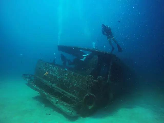 布吉潛水 皇帝島