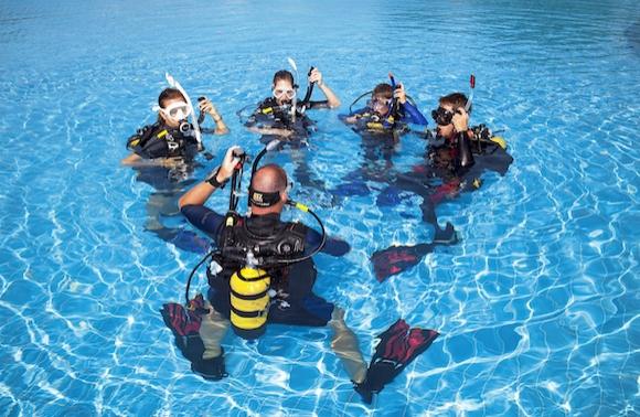 SSI潛水 平靜水域教學