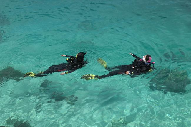 潛水教練 教學