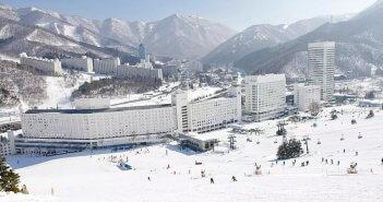 日本苗場 滑雪場