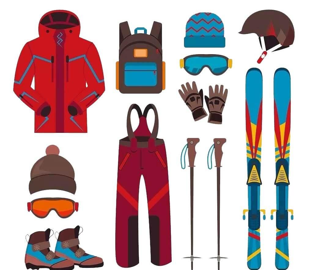 滑雪課程 滑雪裝備