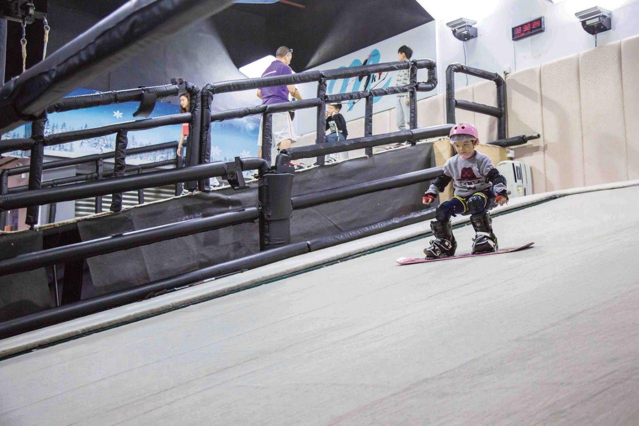 香港滑雪場 Macau Ski & Snowboard