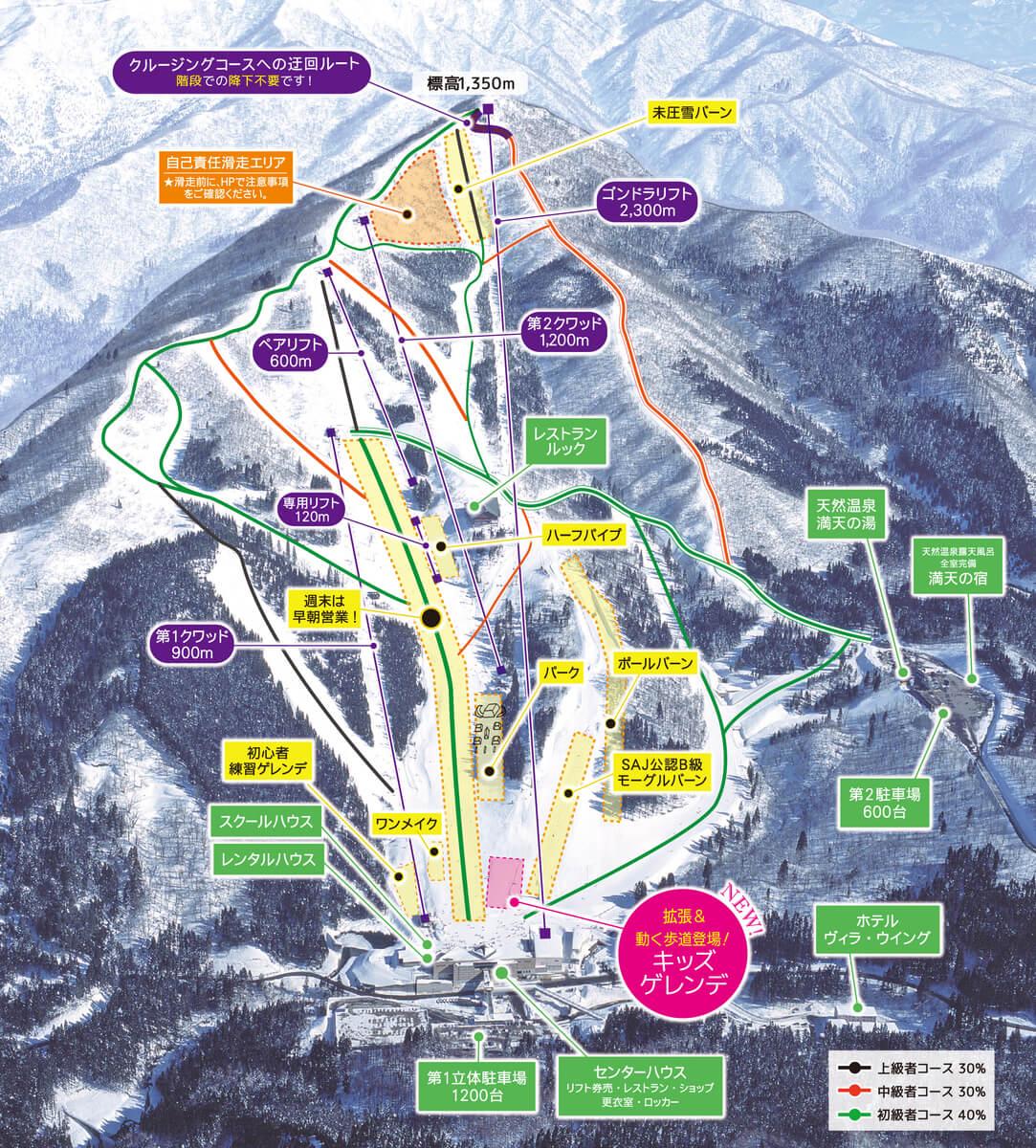 名古屋滑雪 WingHills 白鳥度假村
