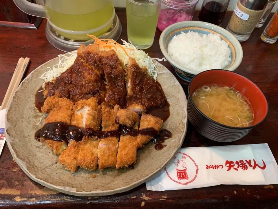 名古屋滑雪 味噌炸豬排