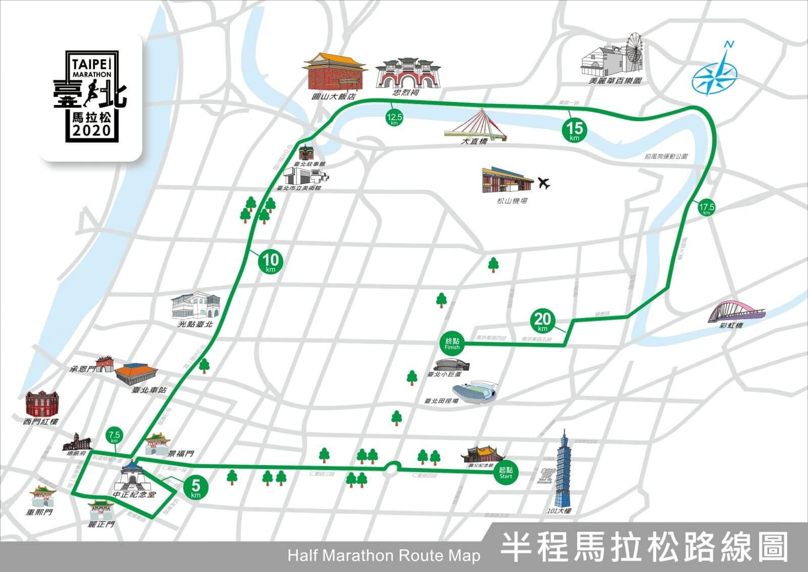 台北馬拉松 半程馬拉松組