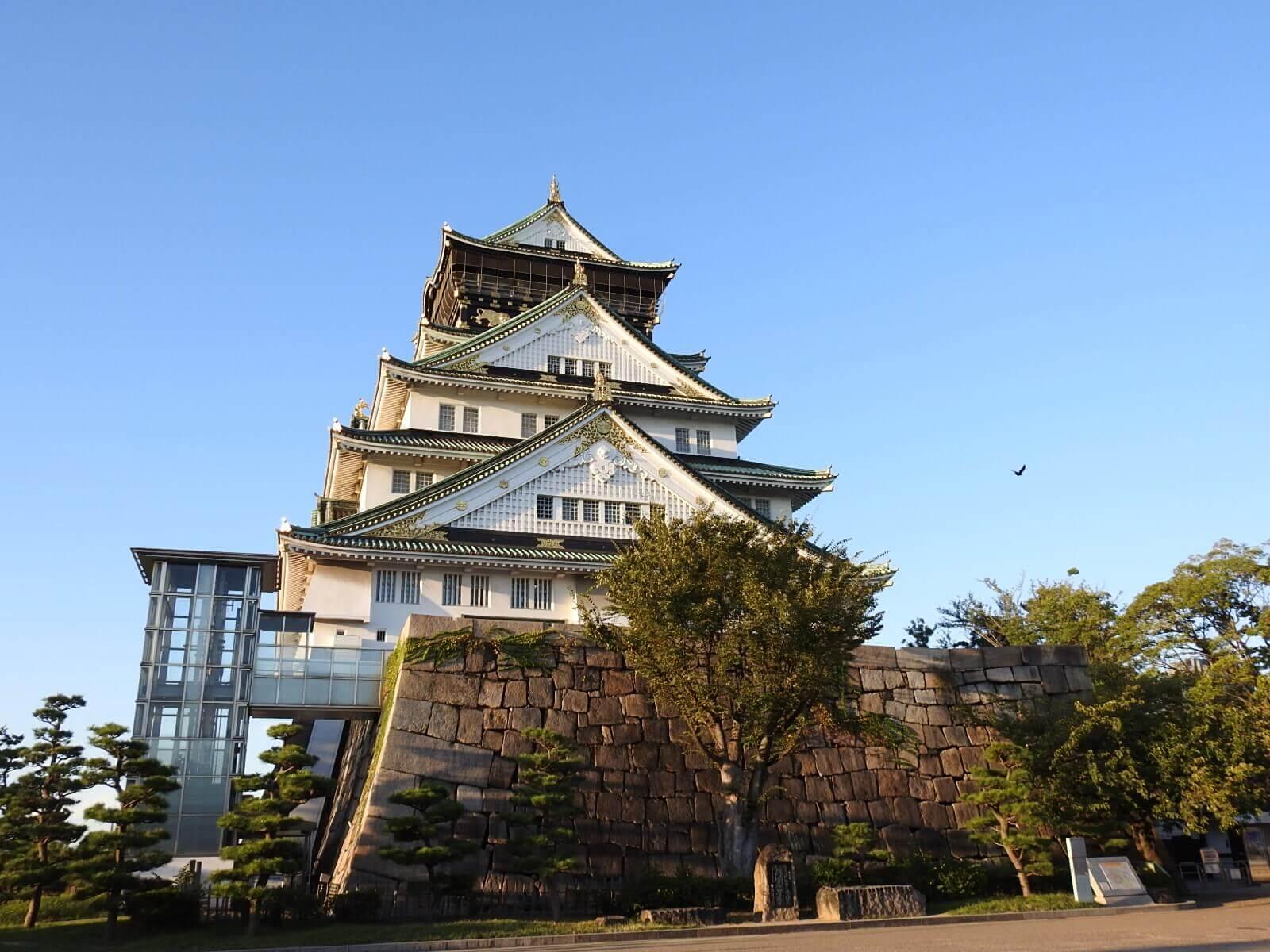大阪馬拉松 大阪城