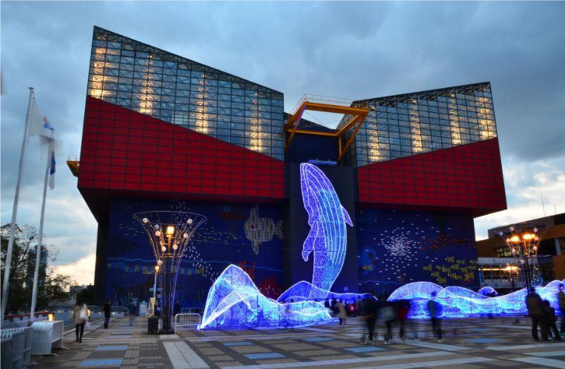 大阪馬拉松 海遊館