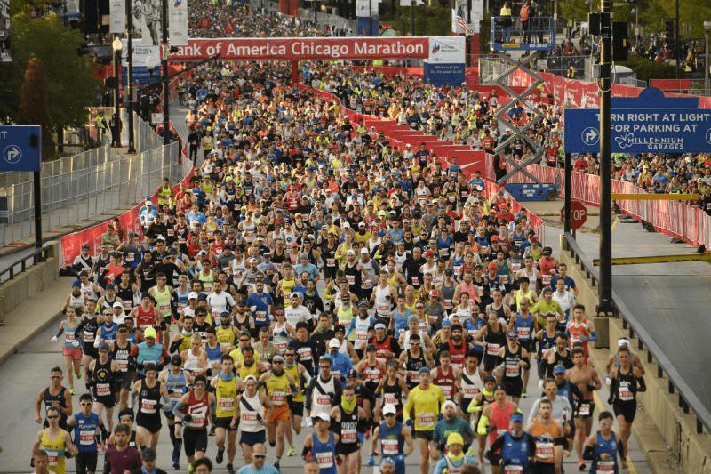 2021馬拉松 芝加哥馬拉松